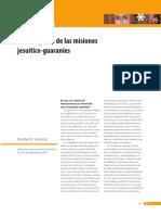 Darko Sustersic, Las imágenes de las misiones jesuítico-guaraníes