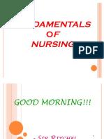 45010189 Review Fundamentals of Nursing
