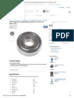 6201-2Z _ SKF Deep Groove Ball Bearing 6201-2Z 12mm I.D, 32mm O