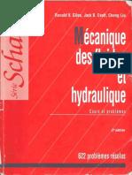 Série Schaum Mécanique Des Fluides Et Hydraulique