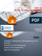 Unit_10_scope of Civil Engg
