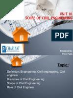 Unit_10_scope of Civil Engg