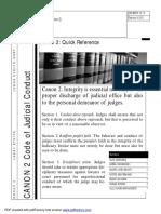 Canon 2 Judicial Ethics