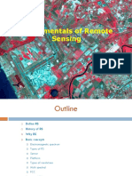 Remote Sensing Introdution