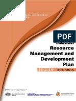 Bohol HRMD Plan 2011-2015
