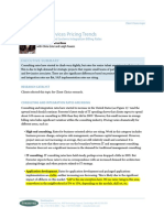 2006 03 Forrester Consulting and Systems Integration Billing Rates