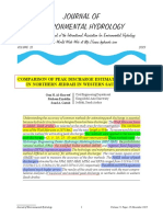 00-Comparison of Peak Discharge Estimation Methods in N Jeddah, W of SA