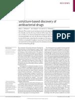 Structure-based Antibacterials NatRevMicro2010