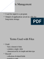 Chapter 11 File Management