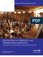 Education in Conflict and Transition Contexts