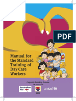 Manual for the Standard Training of Day Care Workers