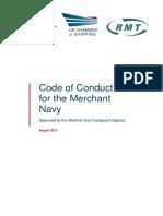 Merchant Navy Code of Conduct 2013