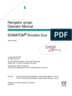 Navigator Syngo Somaton Duo
