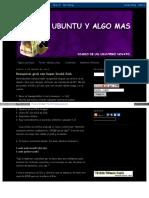 Ubuntu Paranovatos Blogspot Com Ar 2012 03 Recuperar Grub Co