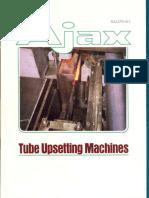 Tube Upsetting Machines Brochure