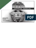 2016 Ultima Shovelhead Engine Manual