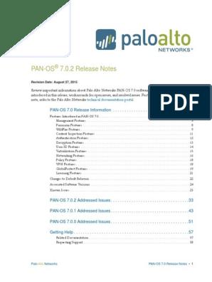 PAN-OS-7 0 2-RN | Radius | Transport Layer Security