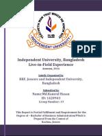 LFE Report ,RRF, Jessore 2017