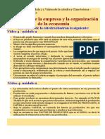 Principios de La Economia Módulo 2 y Videos de La Cátedra y Clase Teórica