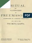 1883 Anonymous Ritual and Illustrations of Freemasonry