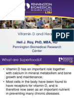 Vitamin D and Health