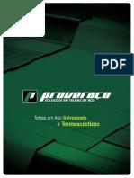 Catalogo de Telhas Proveraco 2