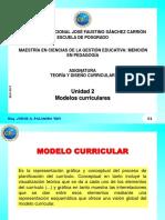 Tema 2 Modelos Curriculares