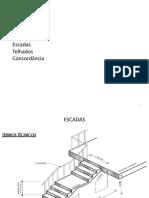 Escadas e Telhados - Desenho Técnico