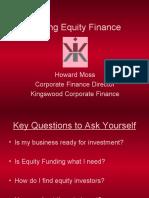 Raising Equity Finance-1
