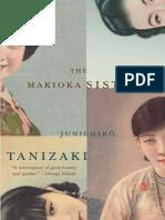 Tanizaki, Junichiro - The Makioka Sisters (1958, Vintage, 9781407053752,9780749397104)