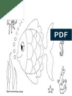 Dibuji Pez Grafomotricidad