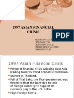1997 Asian Financial Crisis