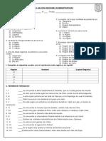 Evaluacion Regiones Administrativas 2016