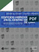 Libro de Edificios Hibridos de Lima