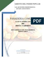 Proyecto de Panaderia Carmen Pacheco