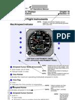 737 Flight Instruments, Displays Controls and Indicators