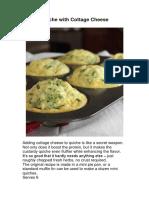 Quiche Recipes and Burritos.docx