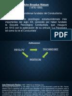 Paradigma conductista (para complementar bibliografia) - Modulo V Historia de la Psicologia (1).pptx