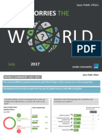What Worries the World-July-2017