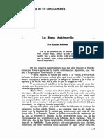 La Raza Antioqueña. Emilio Robledo