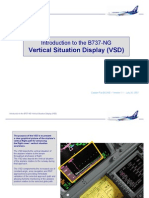 737 NG Vertical Situation Display VSD