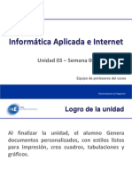 Informática Aplicada e Interne