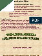 Pnggolongan Antimikroba -Mekanisme Kerjanya