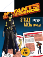 Mutants & Masterminds - Street Level Archetypes - 2nd ed.pdf