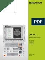 TNC 640 Manual