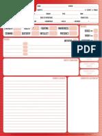 Dc Adventures Character Sheet