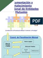 Documentacion y Fortalecimiento Institucional.