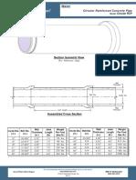 GPW PLT Variesxx Circular Reinforced Concrete Pipe RCP 131501