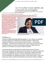 Entrevista Maria Da Penha Introducao e as 5 Perguntas e Respostas