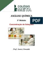 Análise Química 2012 Revisão Soluções